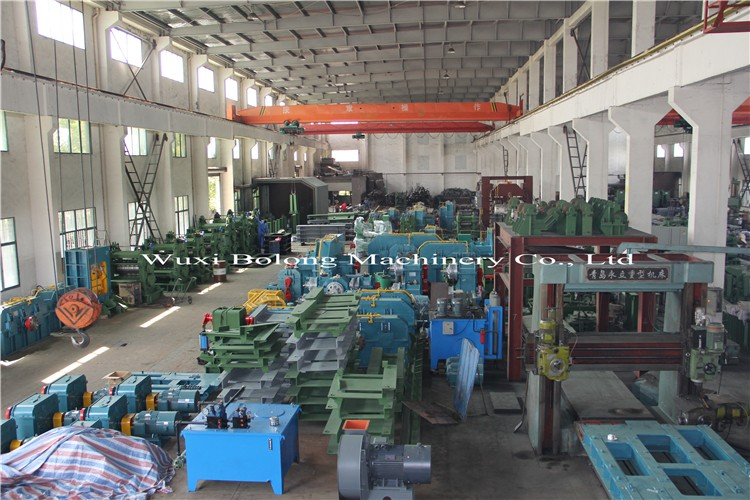 hot rolling mill for deformed bar, rolling line