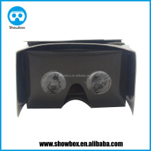 Full color printing google cardboard v2 virtual reality headset 3d glasses cardboard access immersive 3d video by phone