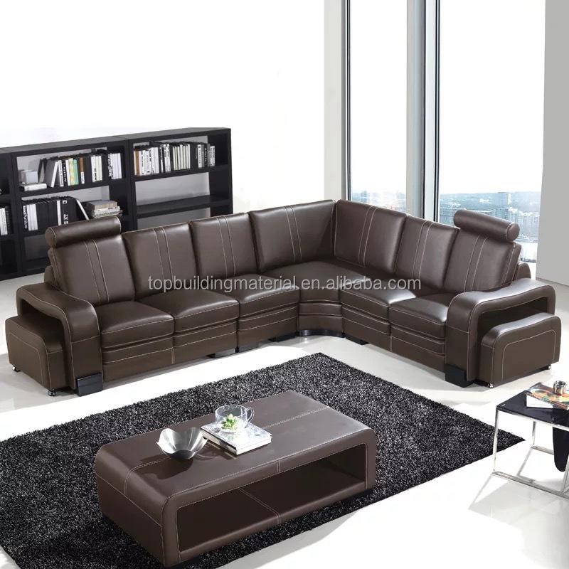 Italian Leather Office Sofa Furniture