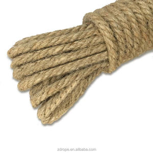 Coir hemp rope linen rope colored jute ropes for wholesale