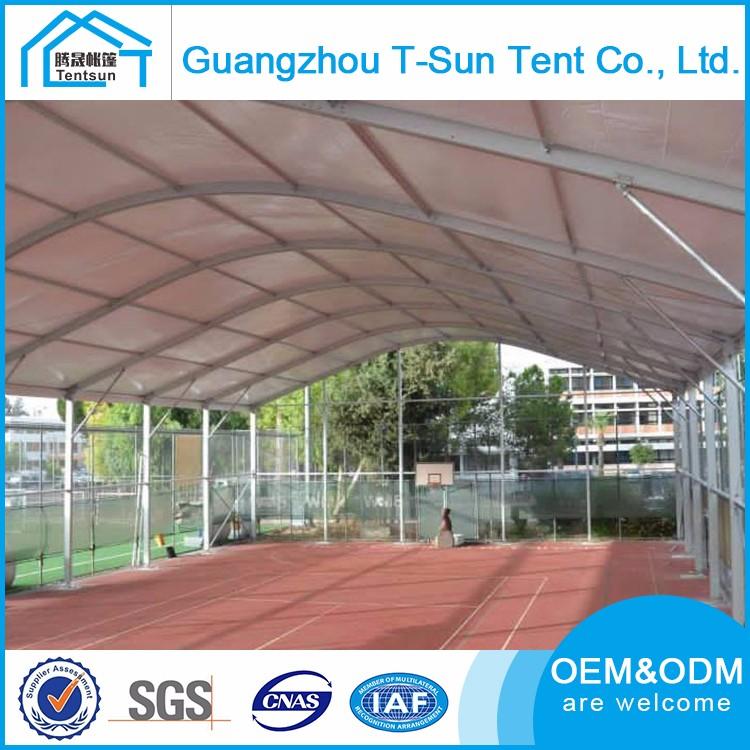 best solution large aluminum structure curve event tent for sports court