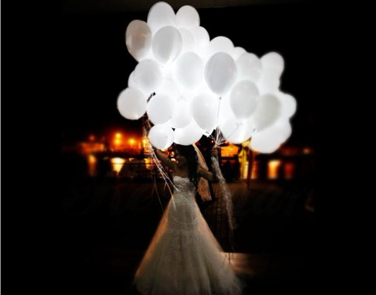 2015 new arrival fatory direct cheapest hot selling wedding decoration LED balloon