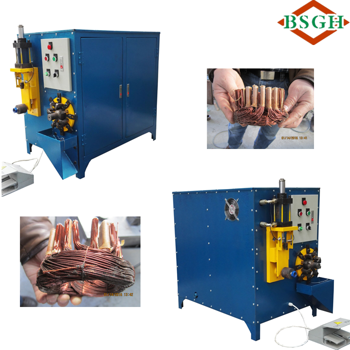new product MR-W Recycling Waste Motor/ Engine Stator Machine to Separate the Copper from Stator Core Buyer in USA Europe