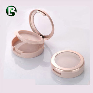 ISO14001 Certificated oem round compact powder case