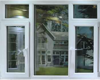 Energy Saving Combination Pvc Upvc Casement Windows And