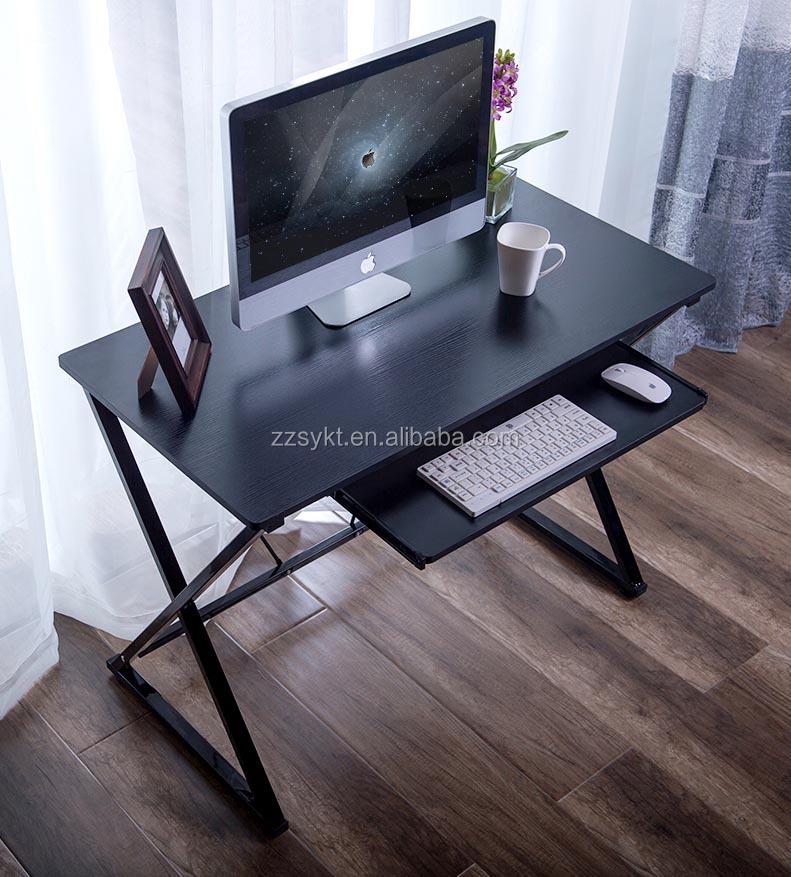 Simple mesa de oficina en casa escritorio escritorios de la ...