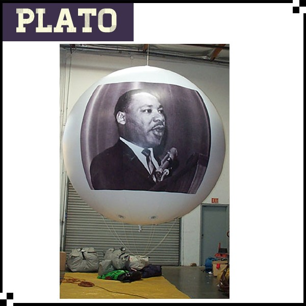 helium balloon material Helium Advertising Balloons Dr. Martin Luther King