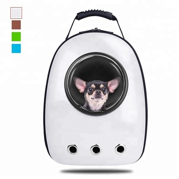 3a286af2d9 Breathable Space Capsule Carrier Bag Hiking Bubble Backpack Pet Travel  Backpack for Dog Cat Puppy