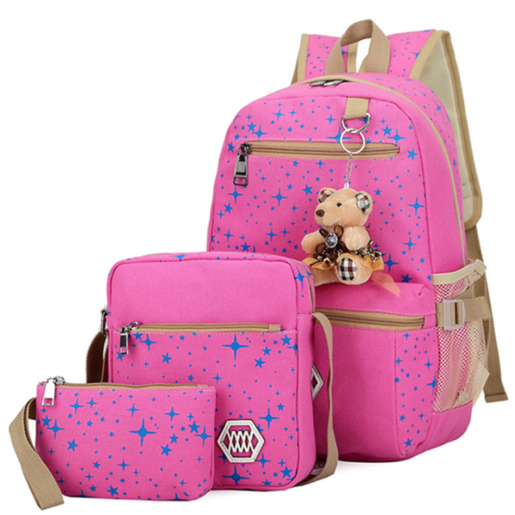 Osgoodway2 Wholesale China Travel Bags Sets Kids Canvas School Backpacks
