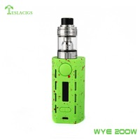 Teslacigs newest vape kit Tesla WYE 200W with cool style factory price 200W Box mod