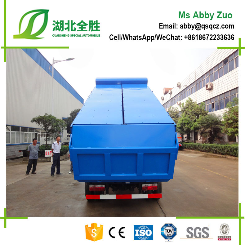 Dongfeng 4x2 95hp Dump Truck/garbage Transportation Tipper Truck For Sale