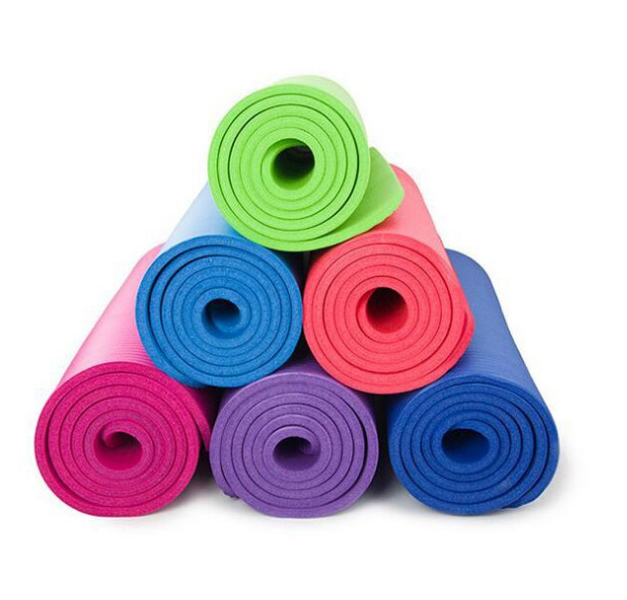 Reedow brand digital printed colorful yoga & Pilates pvc yoga mat exercise fitness