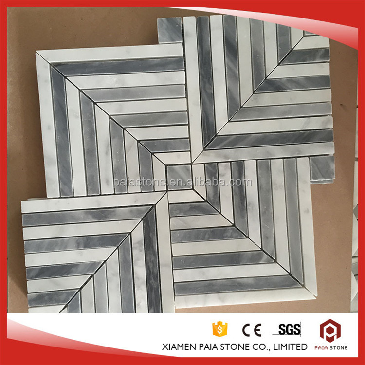 Classic SeriesLow radioactivity Waterjet Marble Mosaic Tile