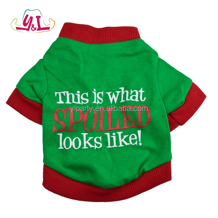 2017 Christmas Matching Dog And Owner Clothes For Pet Dog