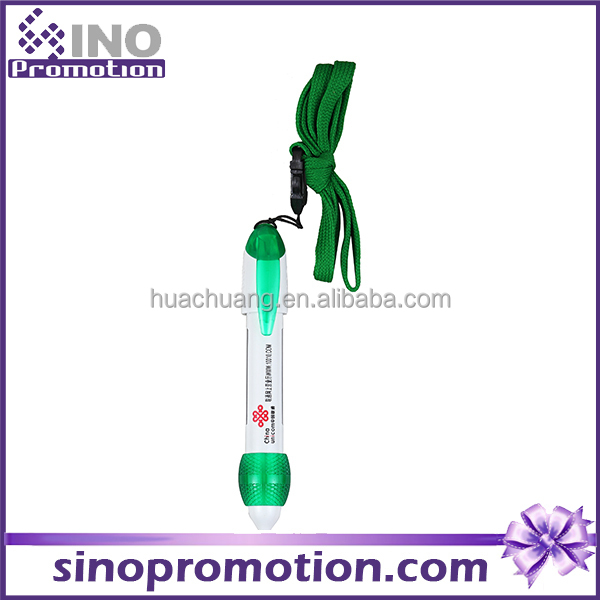 lanyard ball pen GP2439 for business promotion hang neck pen