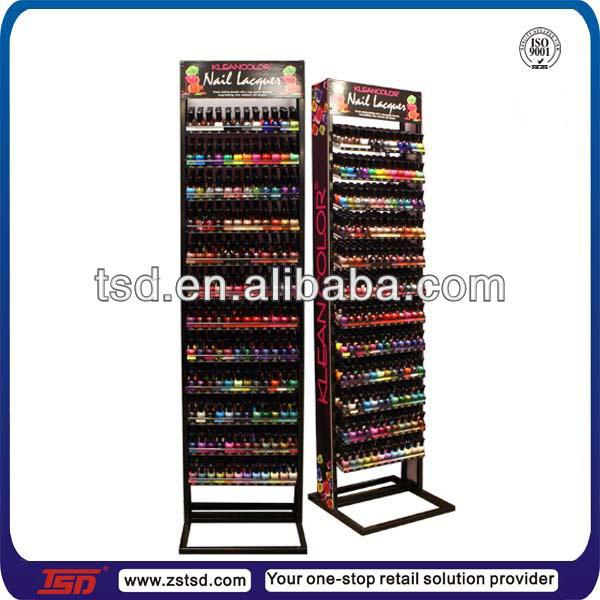 Tsd-m289 Retail Store Floor 5 Tier Acrylic Nail Polish Display ...