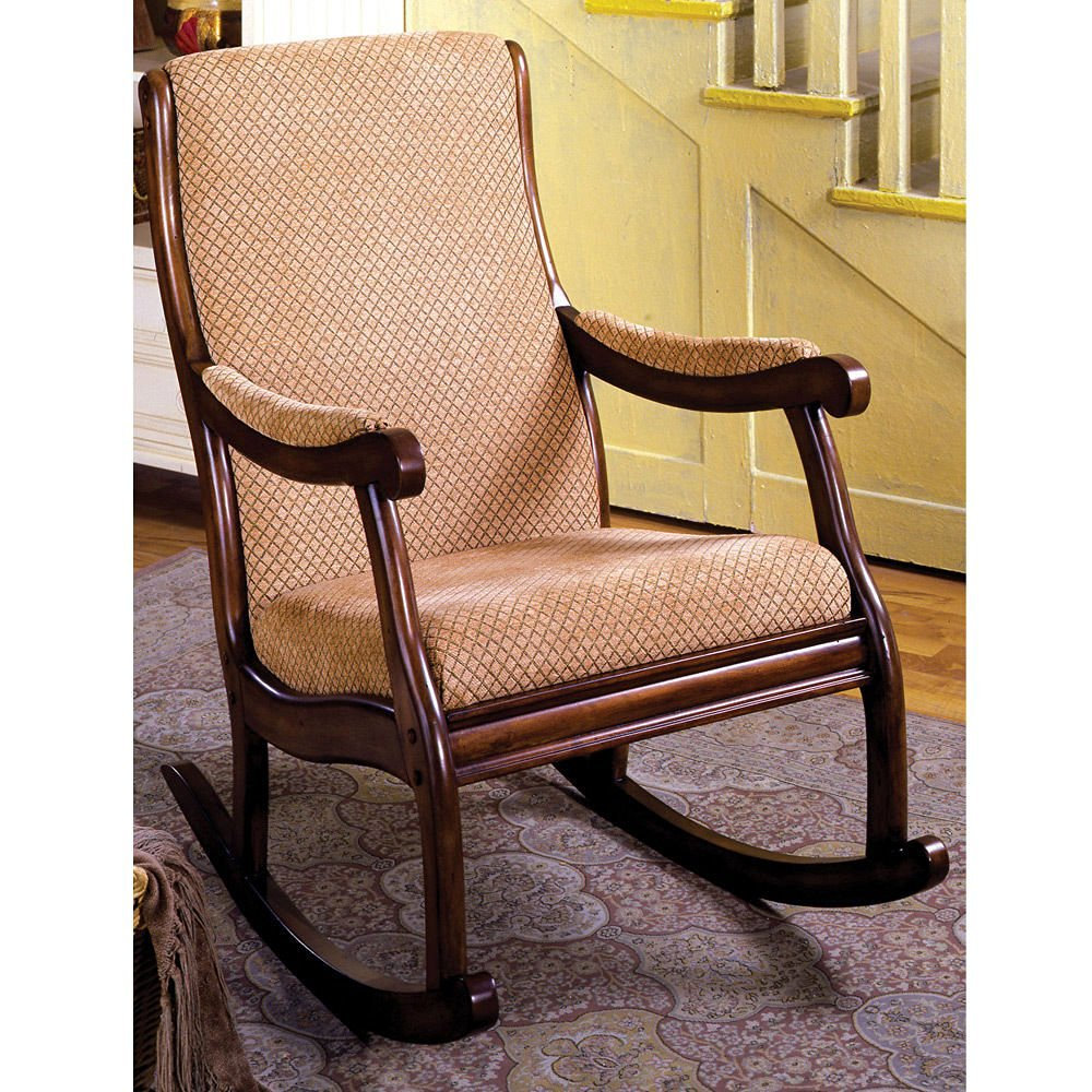1PerfectChoice Liverpool Classic Rocker Rocking Chair Padded Fabric Seat  Solid Wood Antique Oak - Cheap Antique High Chair Rocker, Find Antique High Chair Rocker