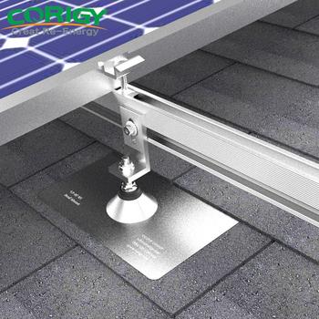 Solar Panel Roof Shingles >> Solar Panel Roof Mounting Brackets Shingle Roof Flashing Mount