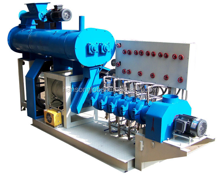 Mingyang brand 10 discount poultry extruding floating fish feed pellet machine price