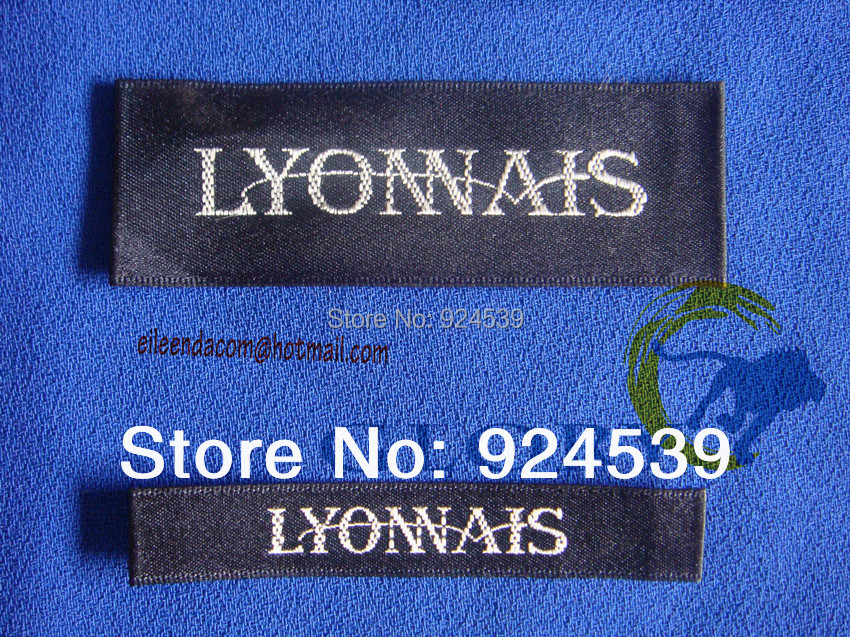 Design your own clothing labels online