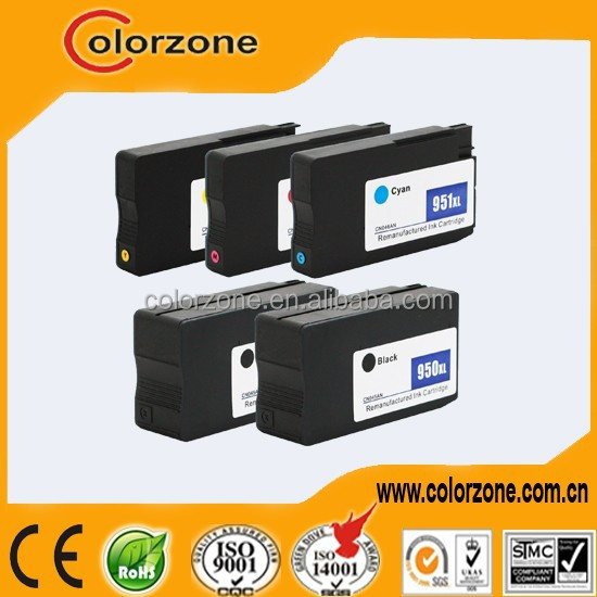 Best price!!! for HP 8100 8600 HP 950 951 ink cartridge
