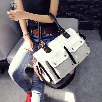 Latest College S Student Hanging Shoulder Long Strip Handbags Messenger Bags