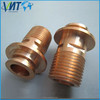 odm custom high precision 6mm brass hose nipple fitting
