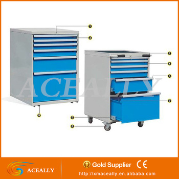 Cheap Rolling Metal Steel Filing Cabinet Tool Box Cabinet Drawer ...