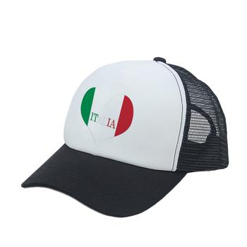 Custom Italian Flag Printed Foam Hats Mesh Trucker Hats - Buy ... 15aef53e6f1