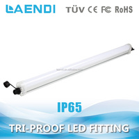 new 600mm 18w led tri-proof light fixture ip65, replace 2 pieces 36w fluorescent tube