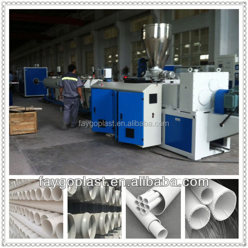 PVC pipe making machine with price pvc banner flex making machine