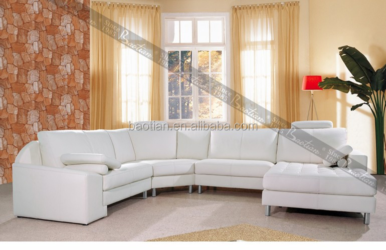 0509 Baotian Furniture Hot selling Fabric corner sofa set for FRENCH design