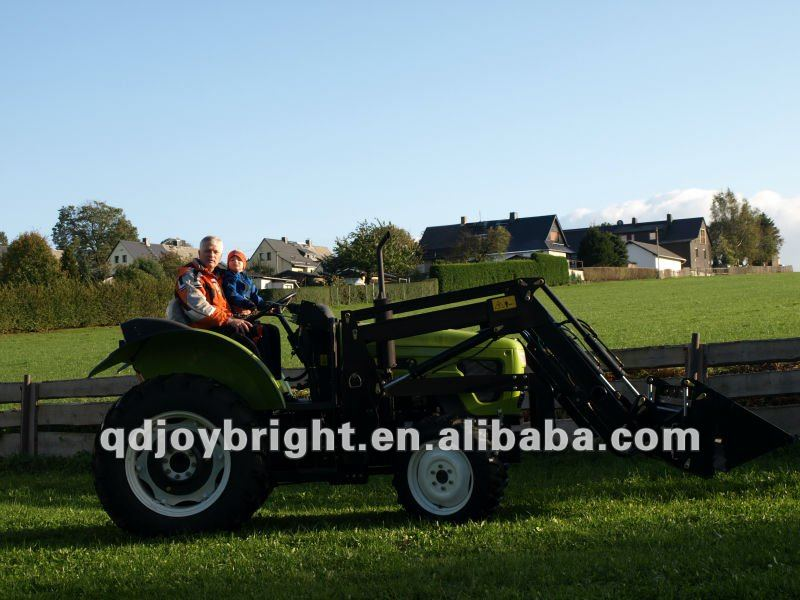 50hp 4wd agricultural tractor with EEC paper