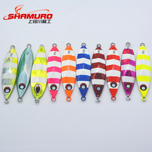 40g-250g3D eye artificial metal lead fish hard baits jigs lures Minnow slow fall Fishing head jigs Made in China