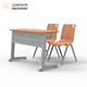 college classroom furniture school desk and chair plywood chair lecture room single double tables and chairs