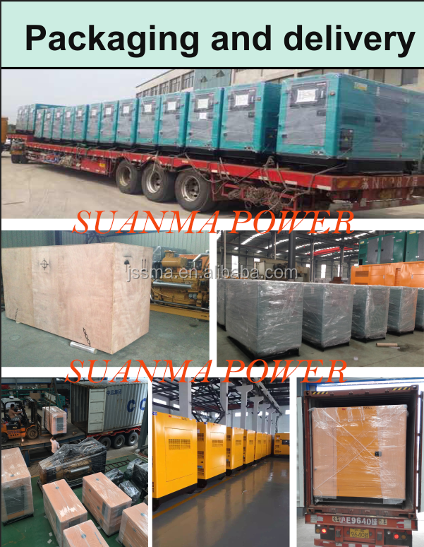 Factory Outlet All Models Silent diesel generator set