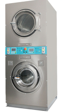 High Quality 15kg washer dryer service For self-service laundry without Coin CE