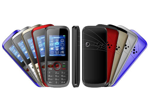 Manufacturer OEM low end telefonos celulares 1.8 inch dual sim standby with CE