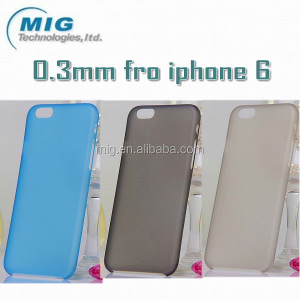 New Product 0.3mm Ultra Thin Matte Back Cell Phone Case For ...