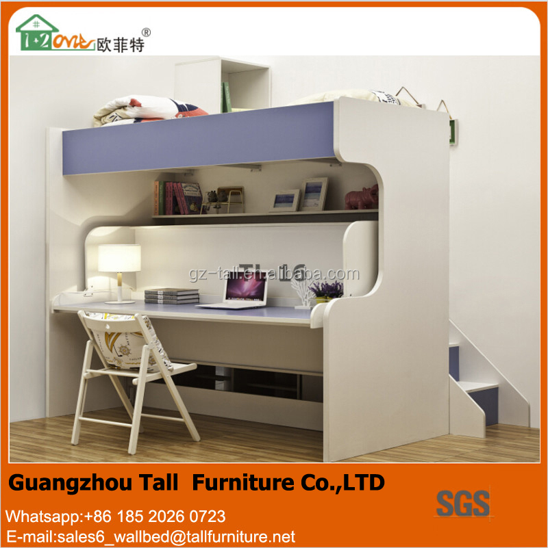 Beautiful Wall Bed With Study Table, Wall Bed With Study Table Suppliers And  Manufacturers At Alibaba.com