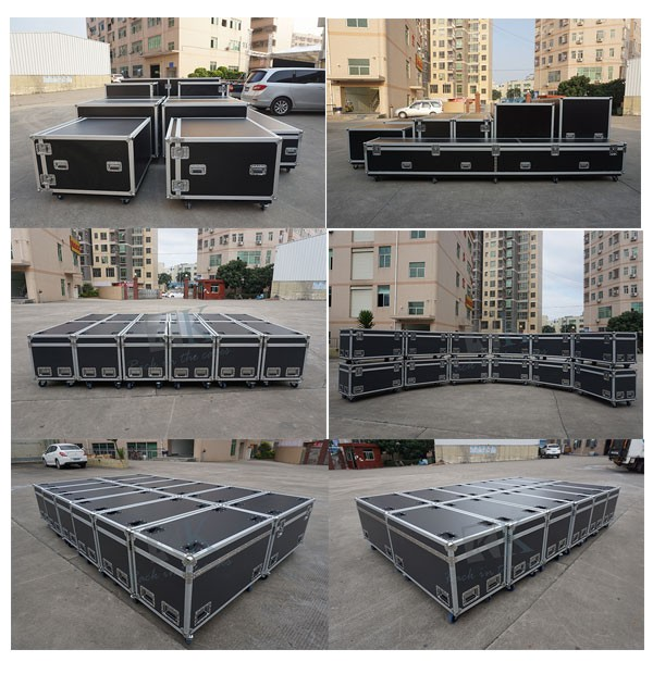 RKTTM56 370*610*270mm CASE FOR RANE TTM56 MIXER WITH POWER SUPPLY RS1 DJ flight case for sale