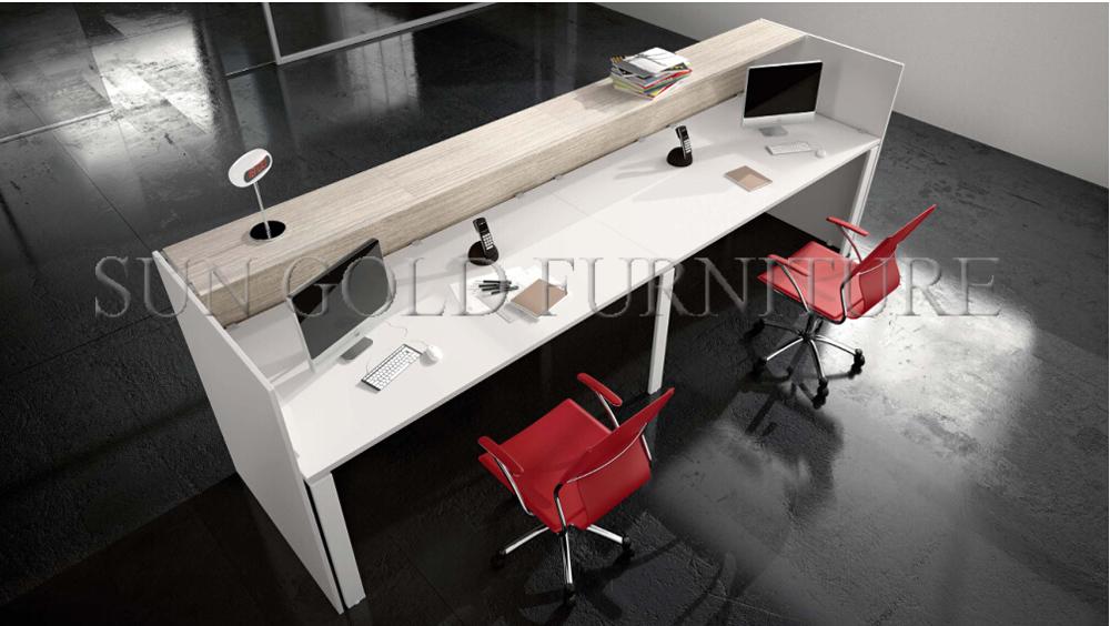 Reception Ufficio Bianco : Popolare di legno front office bianco reception moderna sz rt
