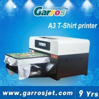 Easy operate good quality A3 t shirt printer direct to garment printing machine for sale