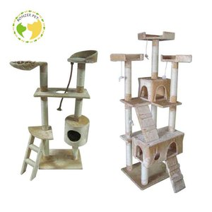 New Pet Products Cat Craft Climbing Castle Tree