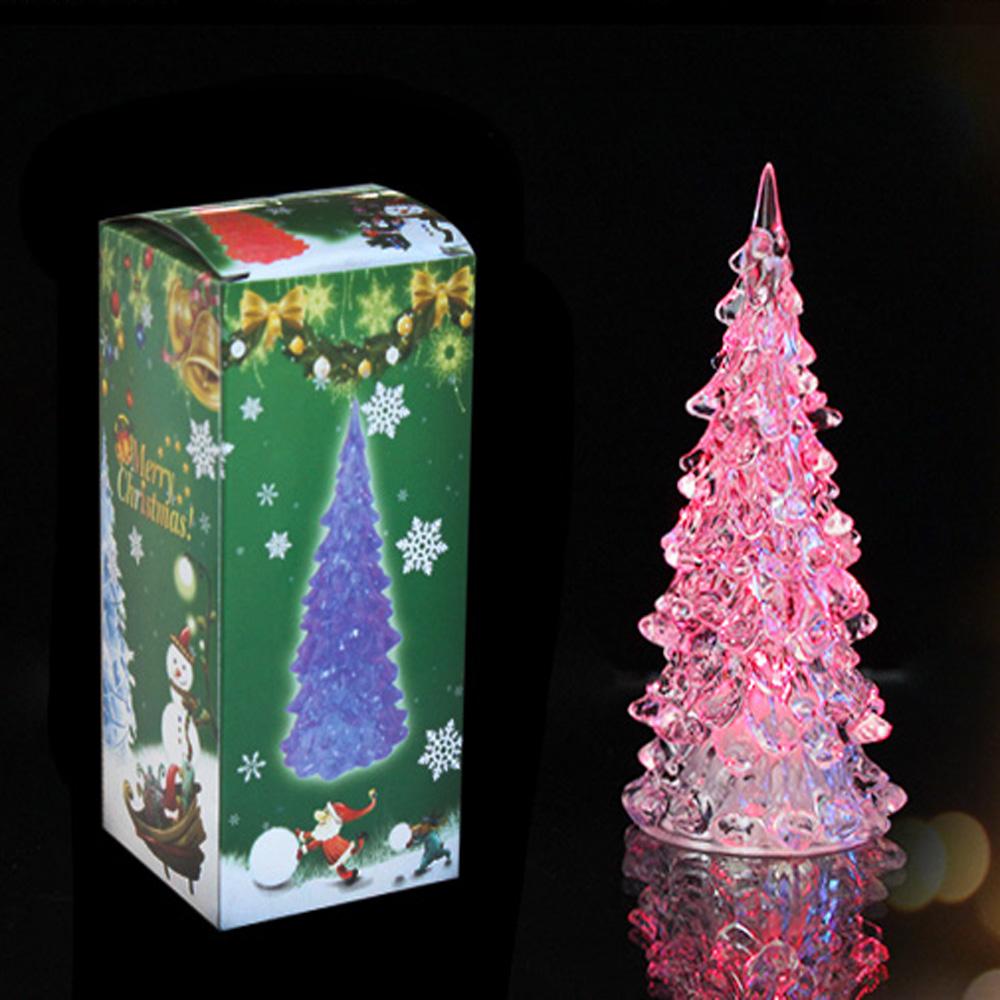 Venta al por mayor llevó acrílico árbol de navidad-Compre online los ...