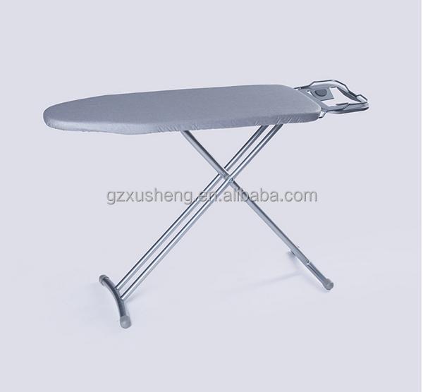 מעולה  גדלים שונים קרש גיהוץ מתקפל נירוסטה, מקופל שולחן גיהוץ עם כיסוי QT-21