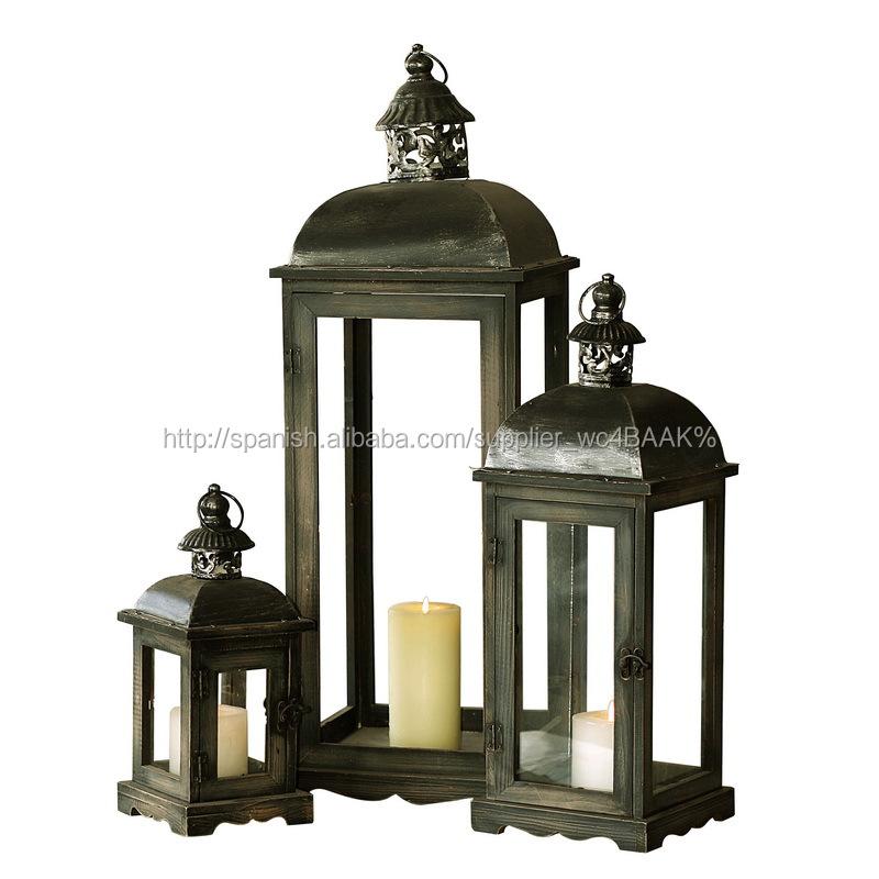 barato faroles decorativos titular de la vela