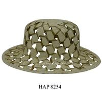 Straw hats for women / Ladies fashion hats / Palm leaf hats in Vietnam (HAP 8254)