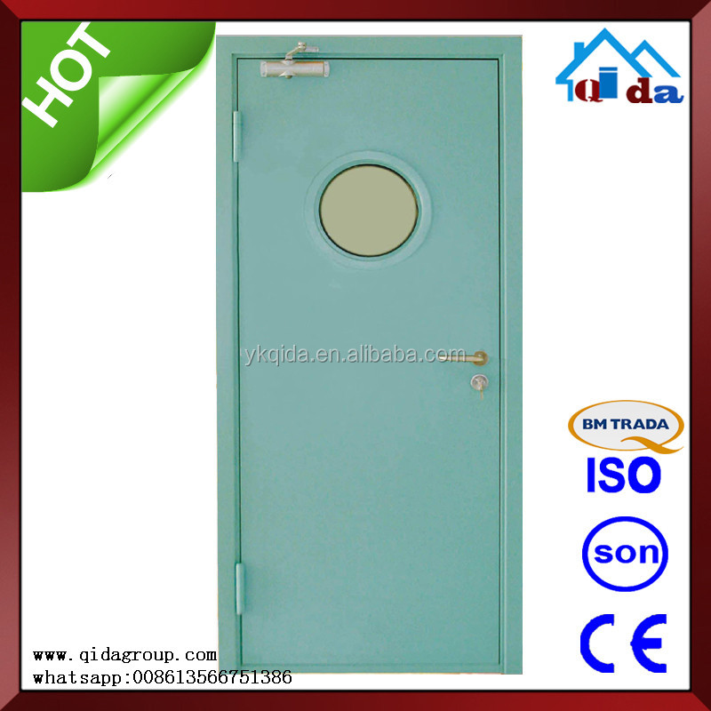 Apartment China Entry Metal Steel Fireproof Fire Rated Door