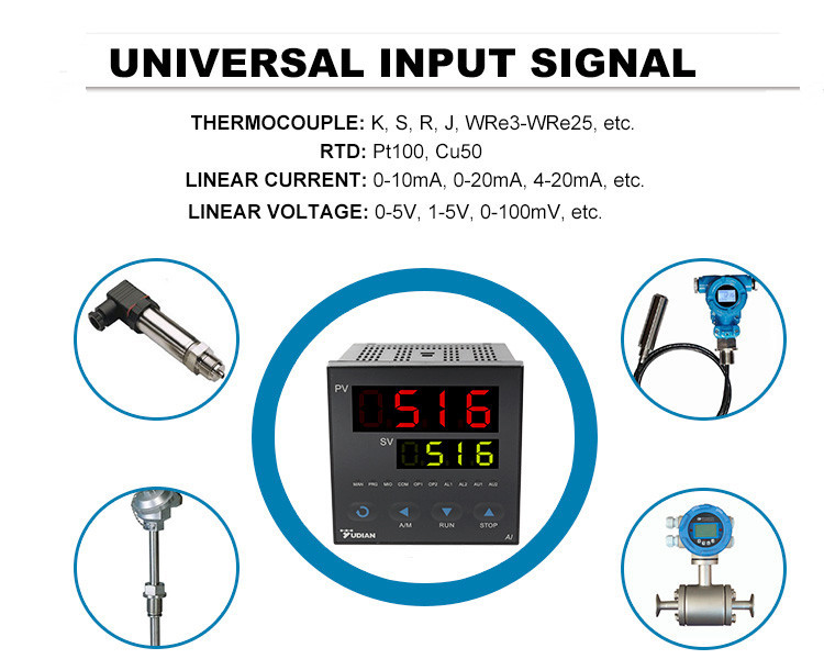 low price high quality pid temperature process controllers with rs485